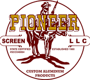 Pool Screen Company in Stuart FL and West Palm Beach FL | Pioneer Logo